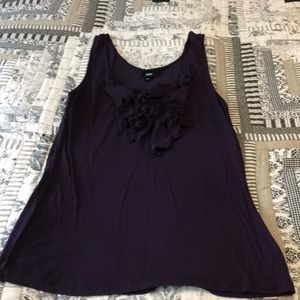 Mossimo deep purple tank top large
